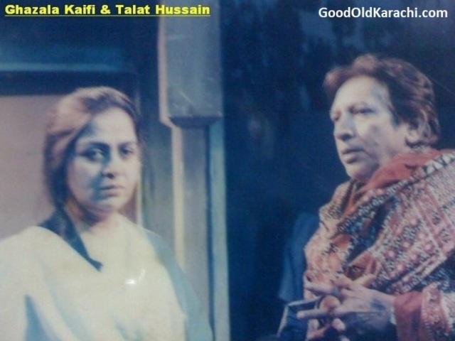 HussainTalatGhazalaKaifi