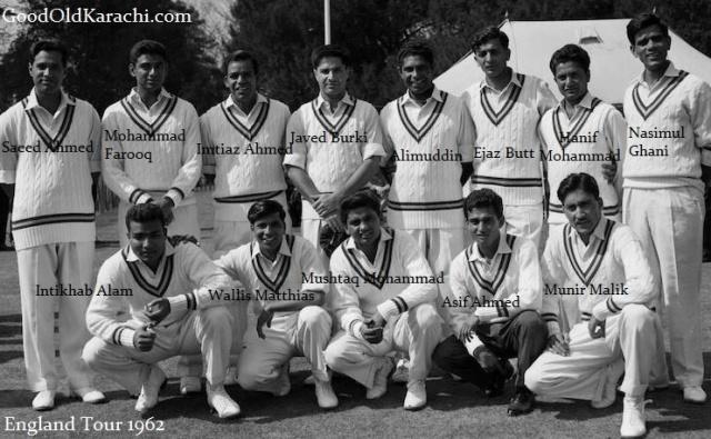CricketTeam1962EnglandTourTag