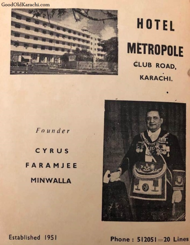 HotelMetropoleFounder1951
