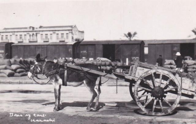 1940 Donkey Cart (1)