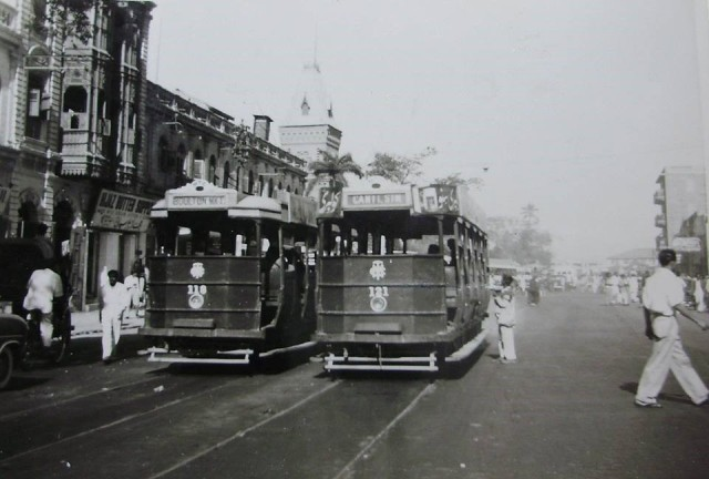 1950 - Trams on Preedy Street