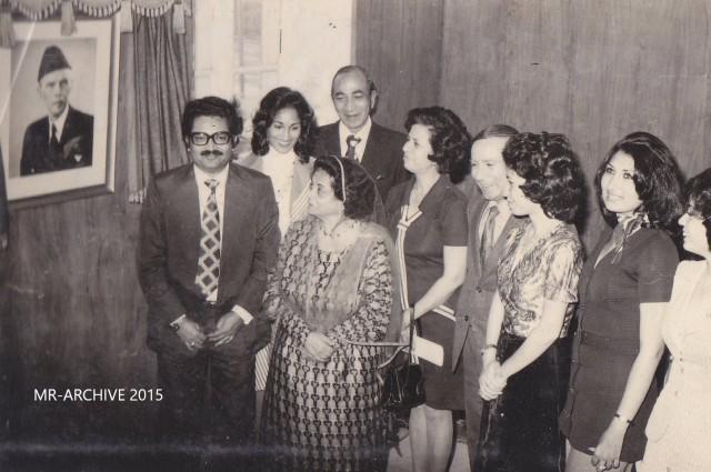 Ra'ana Liaquat & I. Sequeira family