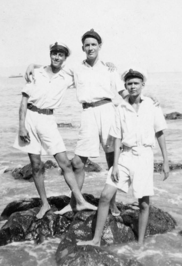 MeikHaroldArnoldFriends1940