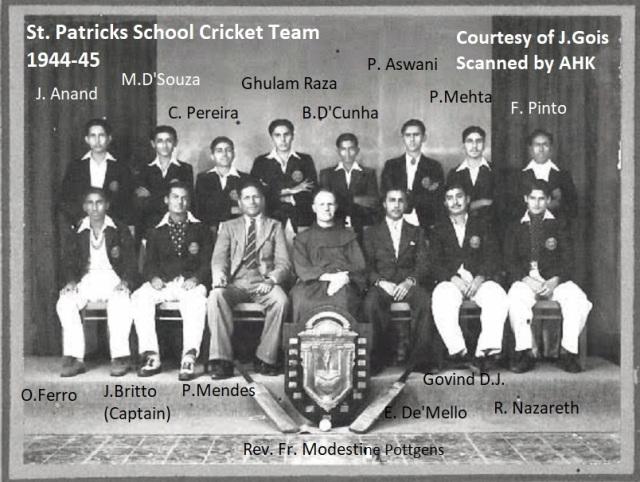 CricketTeam1944-45